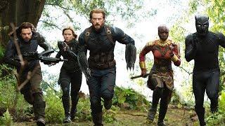 7 Avengers Infinity War Blu-ray CLIPS + Trailer