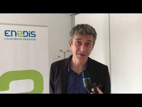 Venue de deux députés de l'Hérault au sein des locaux d'Enedis Montpellier