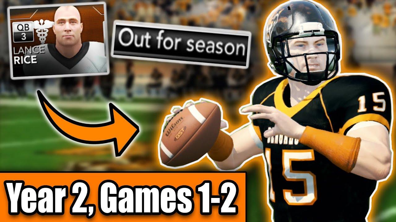 PHENOM QB Goes DOWN?! | Buffalo State College Bengals NCAA Football 14 Dynasty Season 2 Intro [Ep17]
