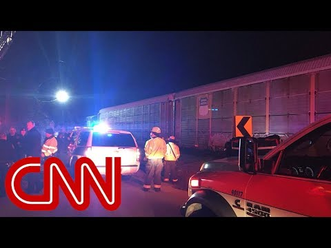 Amtrak train collision in South Carolina causes fatalities