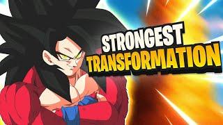 Is Super Saiyan God Stronger Than Super Saiyan 4?