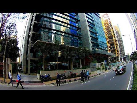 DHAKA Cinematic Look | Most Beautiful Dhaka Banani Street View | Digital Bangladesh
