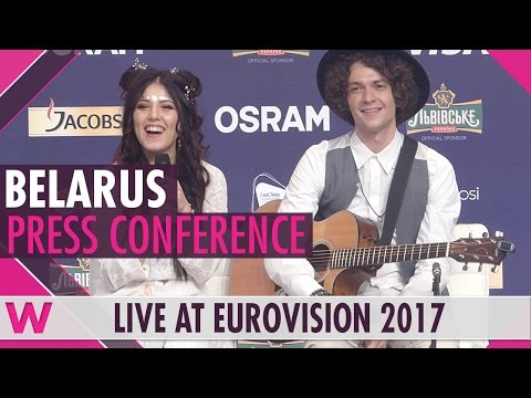 """Belarus Press Conference — Naviband """"Story of My Life"""" Eurovision 2017 