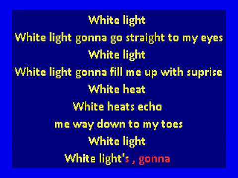 david bowie - white light, white heat (karaoke)