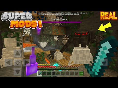 TOP 3 | Mejores Addons Para Minecraft Pe 1.12 - 1.13 | Best Mods For Minecraft Pe !