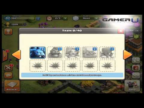 Clash Of Clans - Quick Guide To Dark Barracks