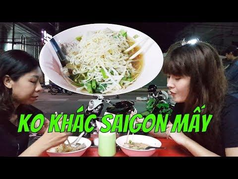 Hủ Tiếu Thái Lan KHÔNG LẠ LẮM  Với 2 Lúa SaiGon A|  Guide Saigon Food