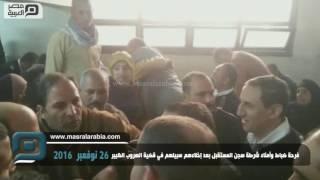 مصر العربية | فرحة ضباط وأمناء شرطة سجن المستقبل بعد إخلاءهم سبيلهم في قضية الهروب الكبير