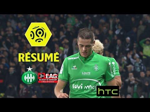 AS Saint-Etienne - EA Guingamp (1-0)  - Résumé - (ASSE - EAG) / 2016-17