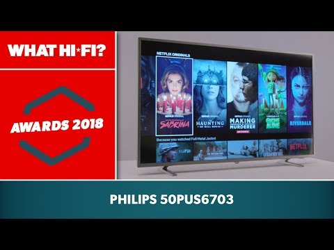 Philips 50PUS6703 Ambilight 50 inch 4K Ultra HD HDR TV | 6 Year