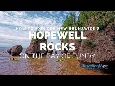 Explore Canada's Hopewell Rocks