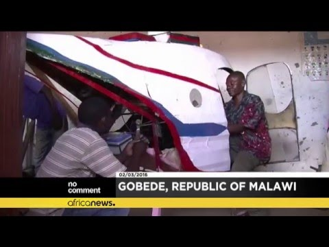 Malawi: Felix Kambwiri builds a helicopter