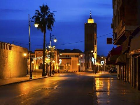 خريطة مدينة وجدة المغربية