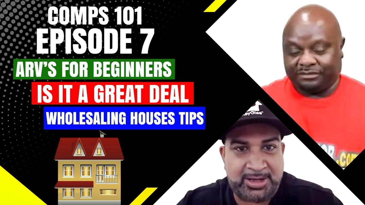 Comps 101 Eps 7: Help With ARV'S - Is It a Great Deal for Wholesaling Houses Using Zillow