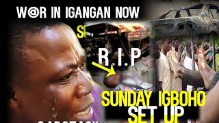 Breaking:W@r in Igangan now!Sunday Igboho SET UP