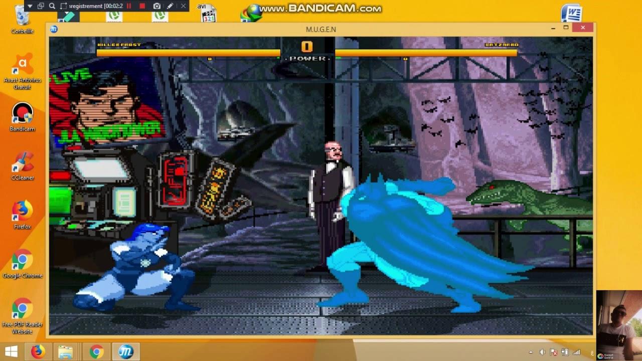 تحميل لعبة : Mugen Super Heroes 2000 v4 5 Marvel & DC Comics Update