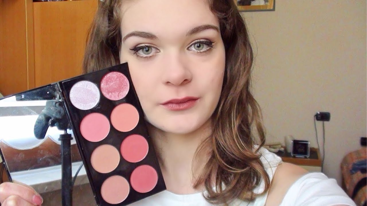 Swatch e Review Ultra Blush Palette Sugar and Spice Makeup Revolution | ElyMakeup06
