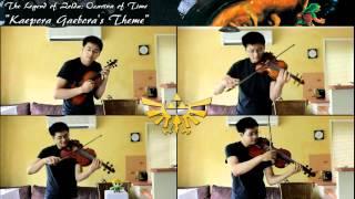 Zelda: Oot - kepora Gaeboras Theme String Quartet