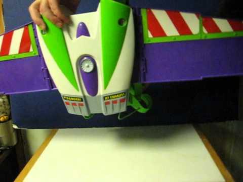 Sale Item Demo - Toy Story Buzz Lightyear Motorized Rocketpack Wings & Sale Item Demo - Toy Story Buzz Lightyear Motorized Rocketpack ...