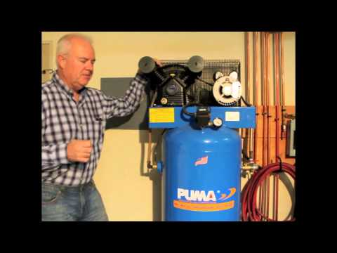 puma 40 gallon air compressor