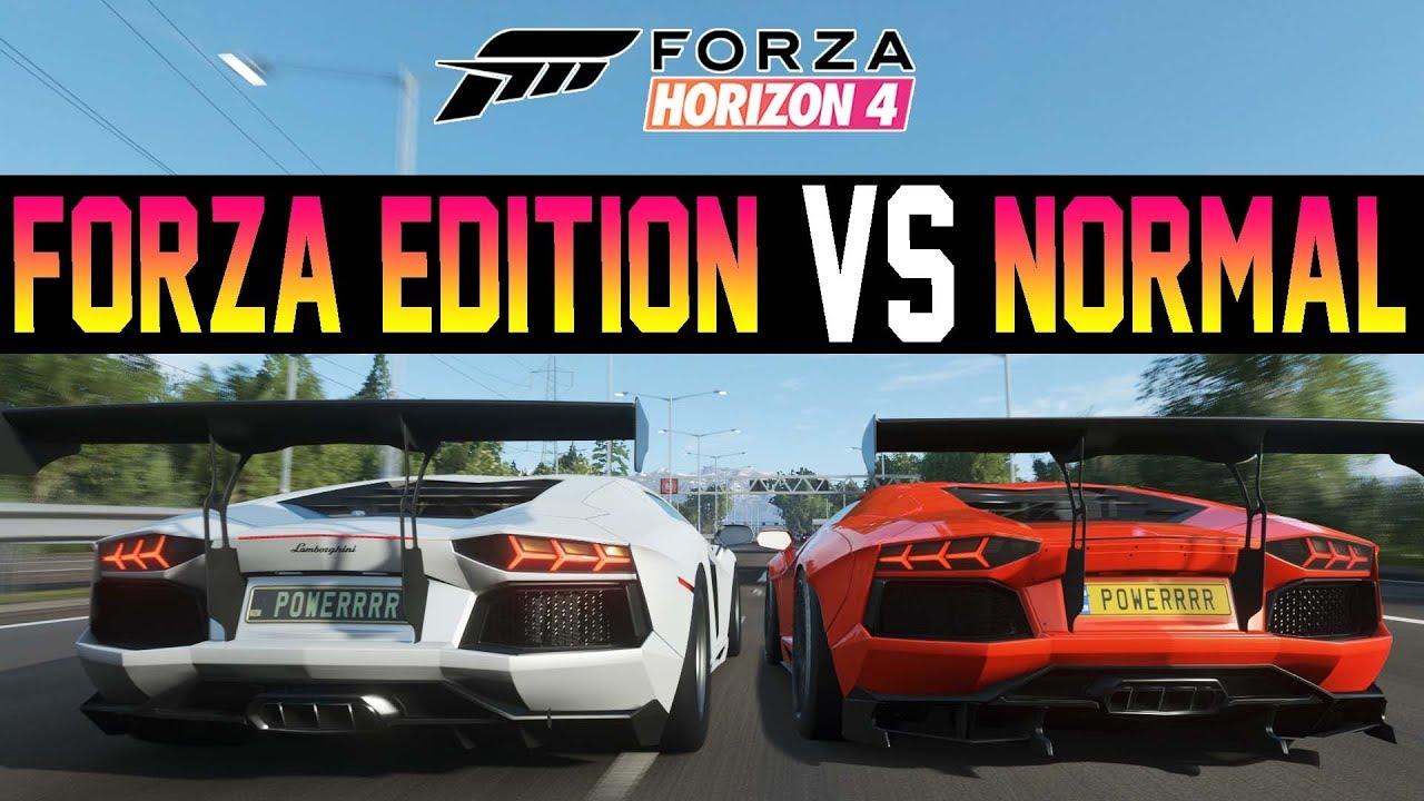 Ultimate Forza Edition Battle Forza Horizon 4 Aventador Fe Vs