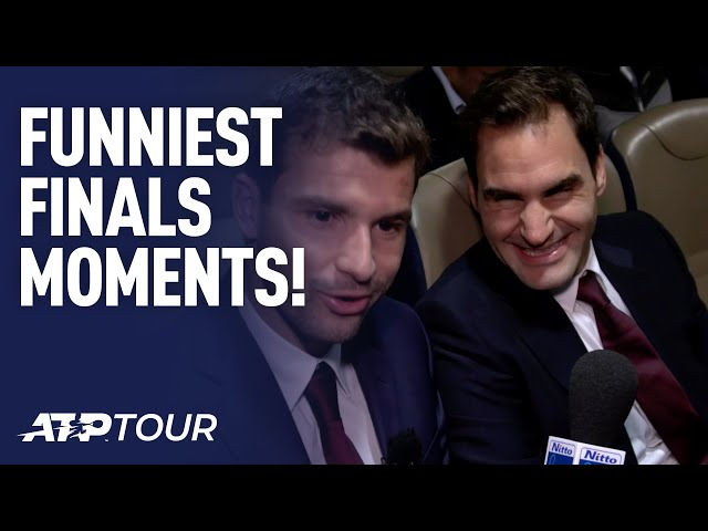 TOP 10 | Funny Moments from the Nitto ATP Finals in London!