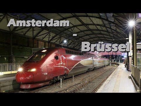 Thalys Amsterdam Brüssel Bruxelles Brussel