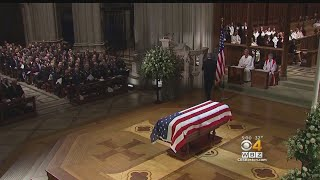 Funeral Highlights President George H.W. Bush's Service, Love For Family