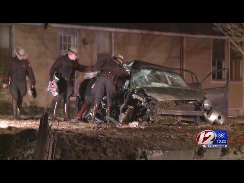 One killed, 3 injured in Exeter car crash