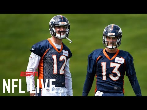 Do The Broncos Have The Most Important Quarterback Competition? | NFL Live | ESPN