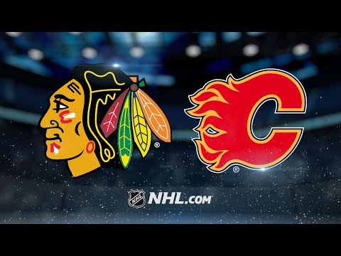 Monahan scores in overtime as Flames edge Hawks, 4-3