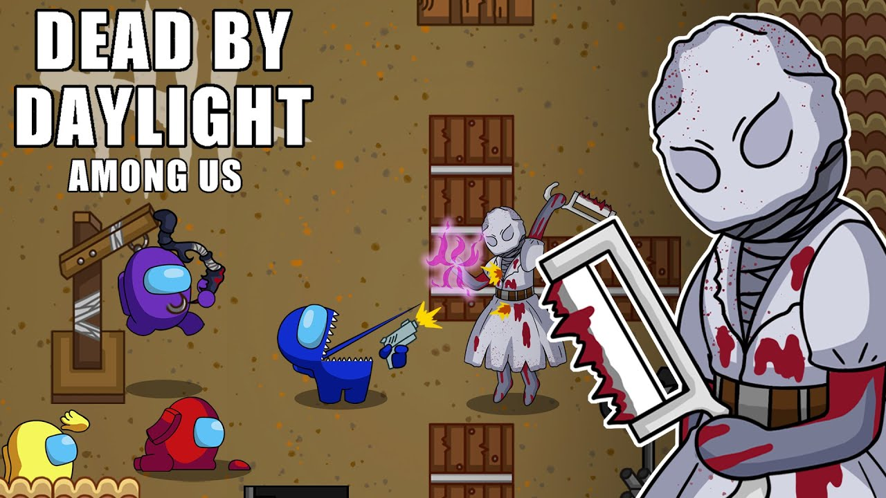 Among Us VS Dead by Daylight (feat.Nurse) l Among Us Animation