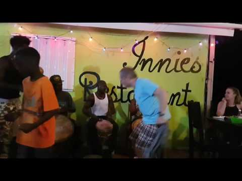 Great performance at Innies in Hopkins Belize
