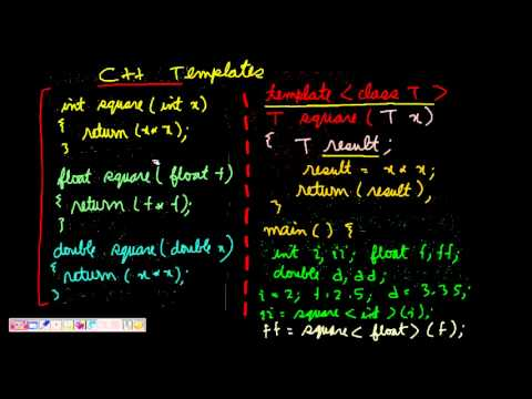Programming interview function and class templates in c youtube programming interview function and class templates in c pronofoot35fo Gallery