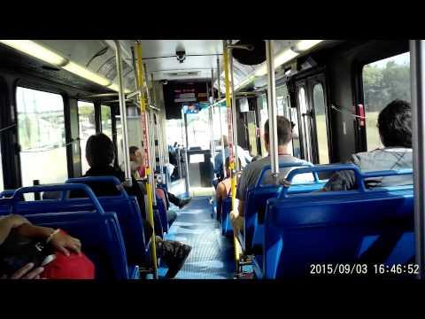 VIA bus route 5O2 in San Antonio, Texas on Thursday September 03, 2015