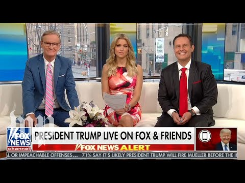 Missed 'Fox & Friends'? Here's what Trump said