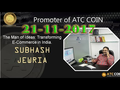 ATC COIN  MD Mr:सुभाषजी फेसबुक अपडेट  ता:21 11 2017