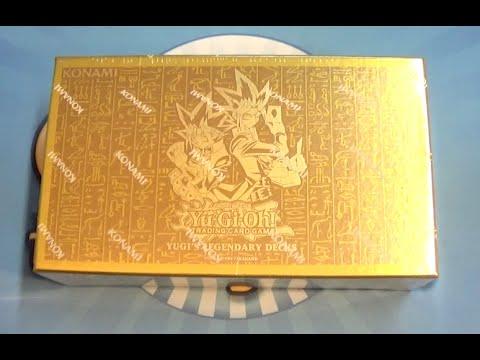 ENDLICH!! Yugi's Legendary Decks King of Games Box Yugioh Opening/Unboxing deutsch/german