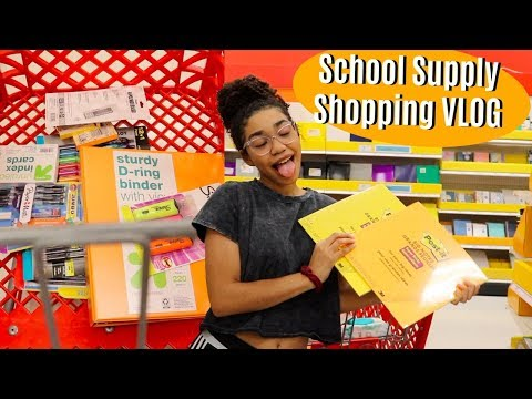 BACK TO SCHOOL SUPPLIES SHOPPING VLOG *2019