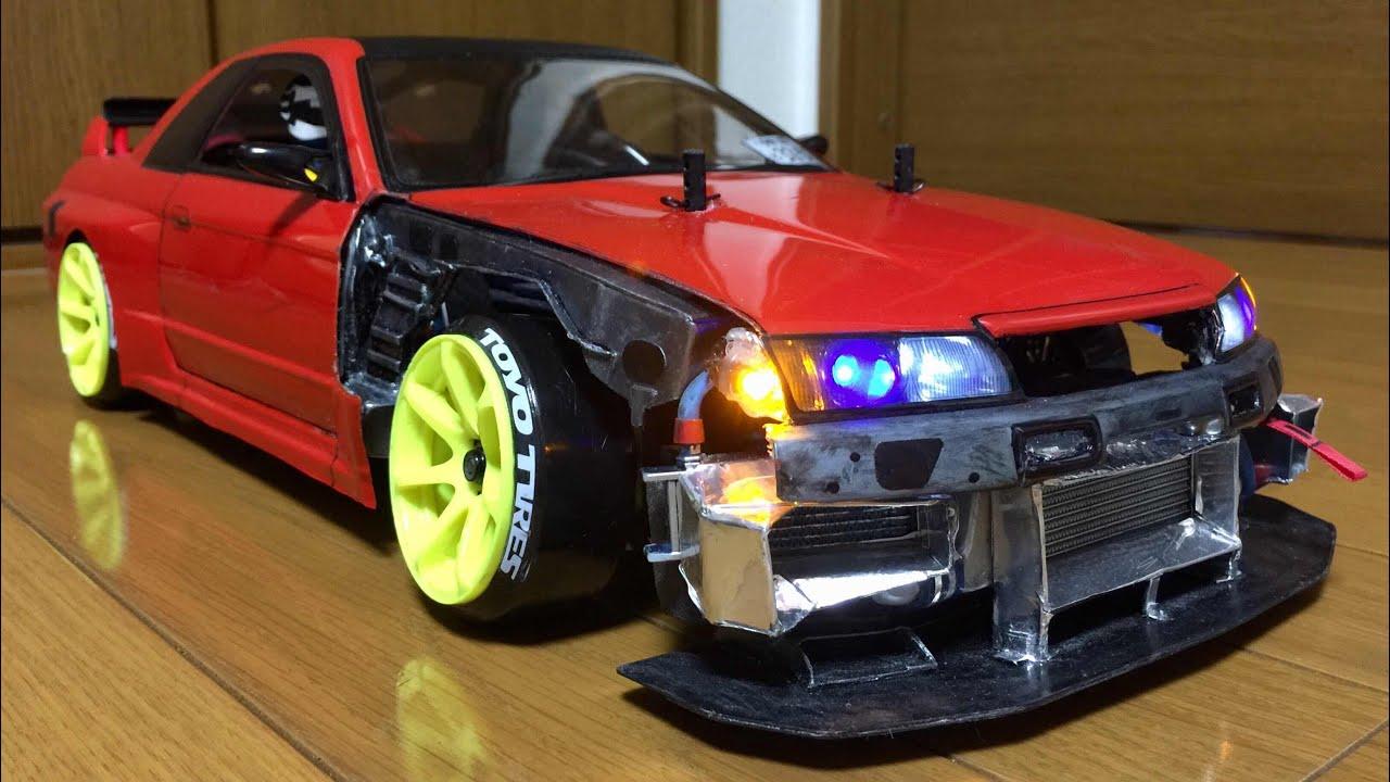 【RC Drift Body Build:Part 2/3】「TAMIYA NISSAN BNR32 GT-R nismo」(TAMIYA TA02) - YouTube