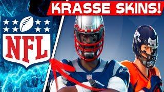 KRASSE SKINS ANNOUNCED! | Fortnite NFL Skins are coming!
