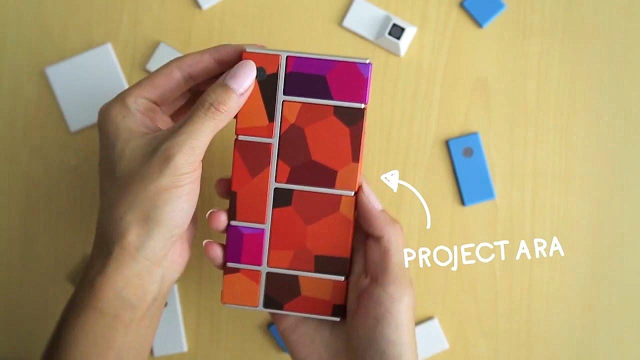 Pixel Phone - Google's First Modular Smartphone! - YouTube