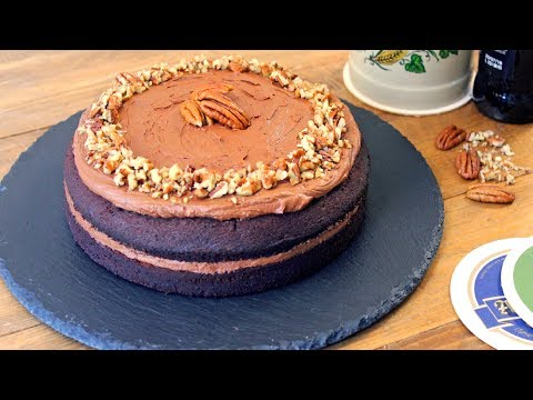 Chocolate Beer Cake Recipe | Oktoberfest Cake | How Tasty Channel