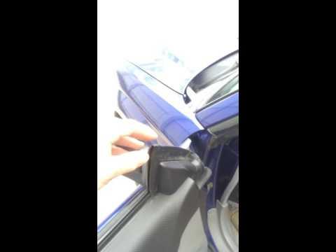 Subaru Window Air Leak Fix