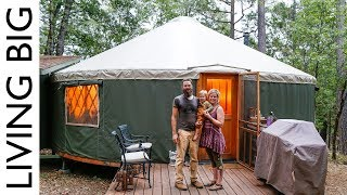 Yurt Life And Permaculture In High Sierra