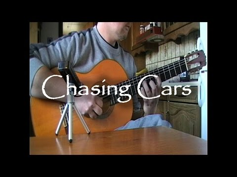 Chasing Cars - Snowpatrol | fingerstyle guitar (with tabs)