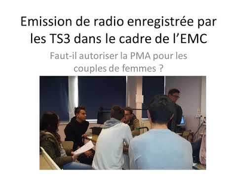 2017 Radio PMA femme homosexuelle