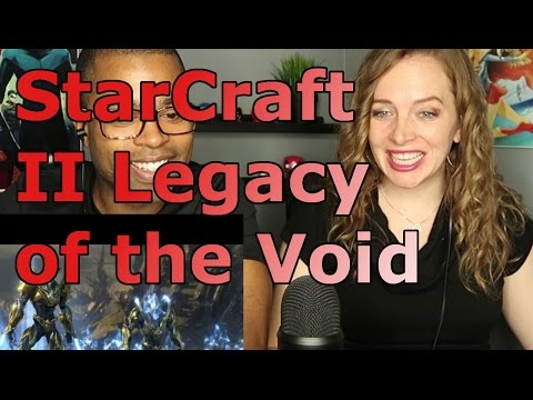 StarCraft II: Legacy of the Void Opening Cinematic (Reaction 🔥)