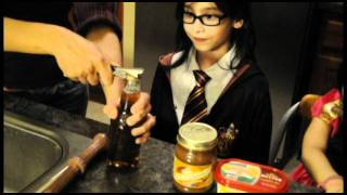 Mahtab's Big Kid Cooking Show - Episode 10 - The Harry Potter Episode