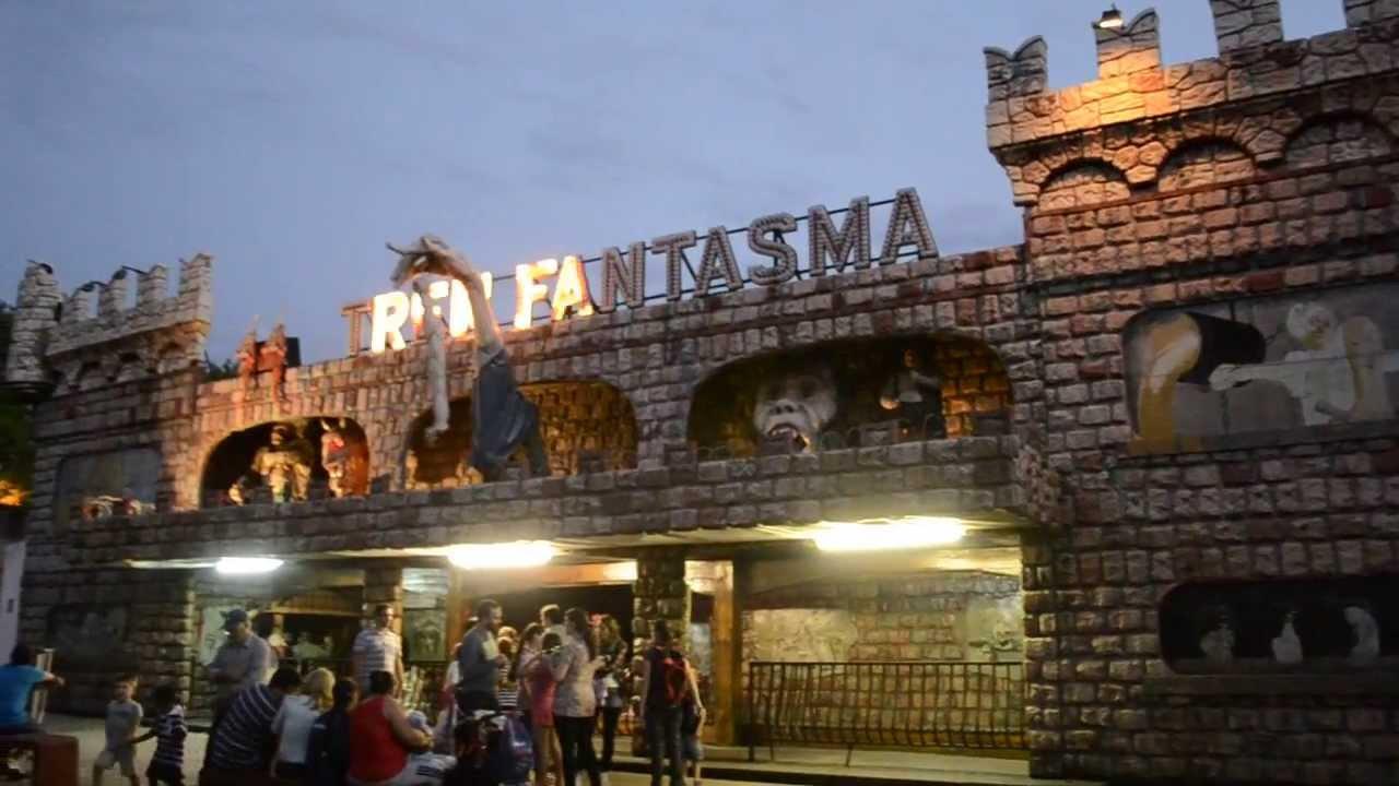 Tren Fantasma del Parque Rodó: el último día - YouTube